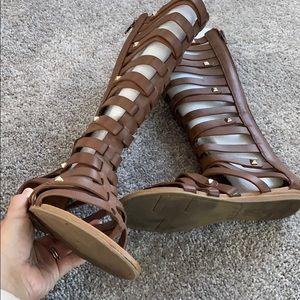 Fergalicious gladiator sandals